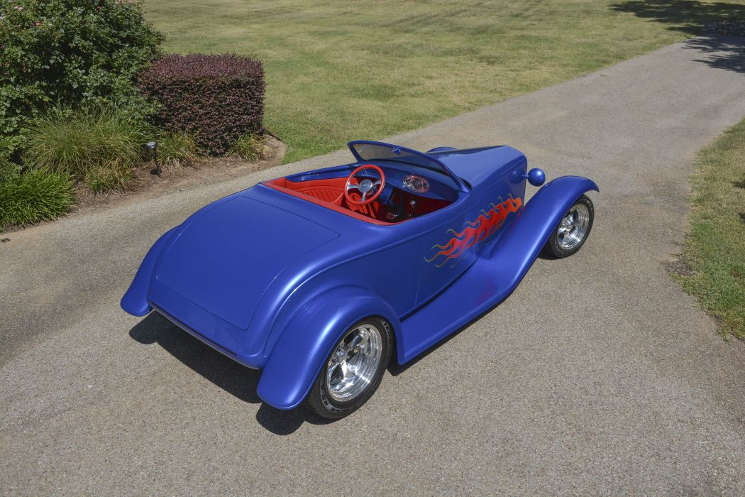 1932 Ford Roadster Boydster II Street Rod Hot Old USA -03 wallpaper