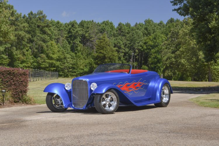 1932 Ford Roadster Boydster II Street Rod Hot Old USA -01 wallpaper