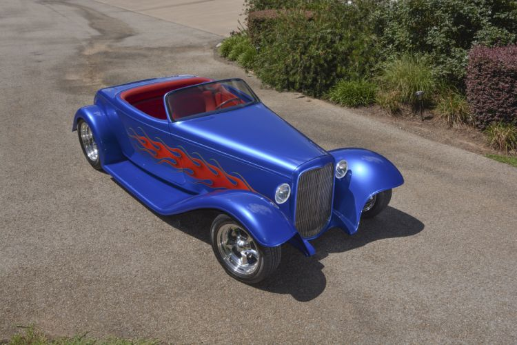 1932 Ford Roadster Boydster II Street Rod Hot Old USA -11 wallpaper