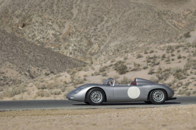 1961 Porsche 718 RS61 Spyder racce racing classic supercar wallpaper