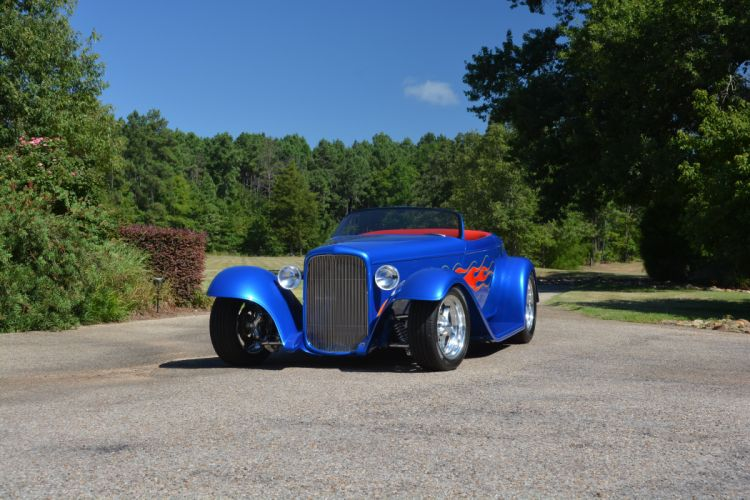 1932 Ford Roadster Boydster II Street Rod Hot Old USA -13 wallpaper