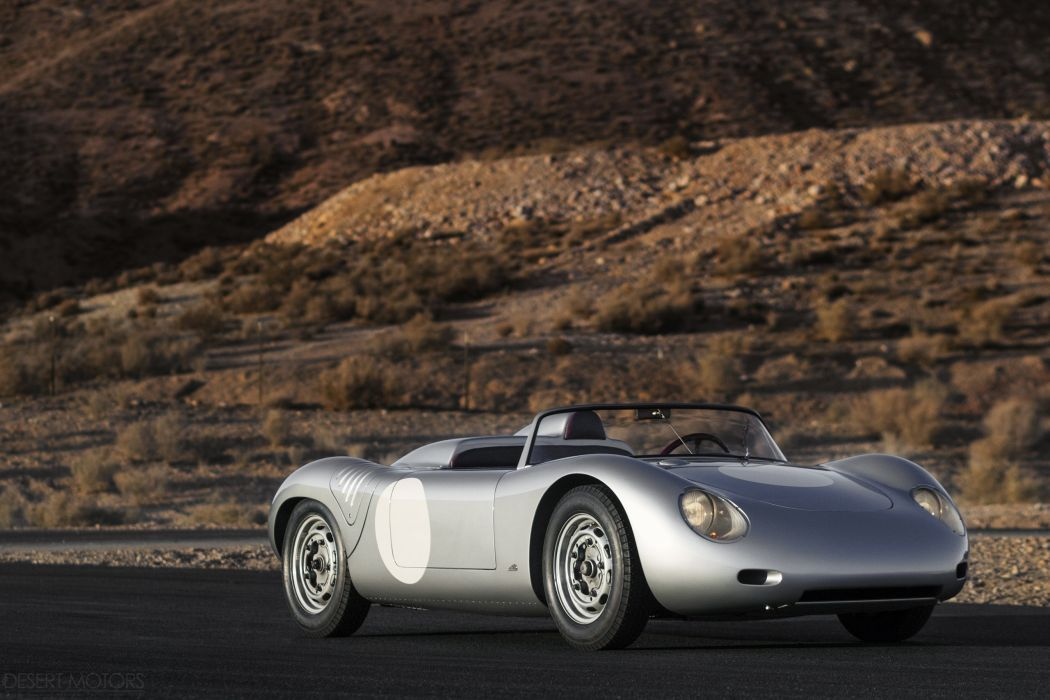 1961 Porsche 718 RS61 Spyder racce racing classic supercar wallpaper