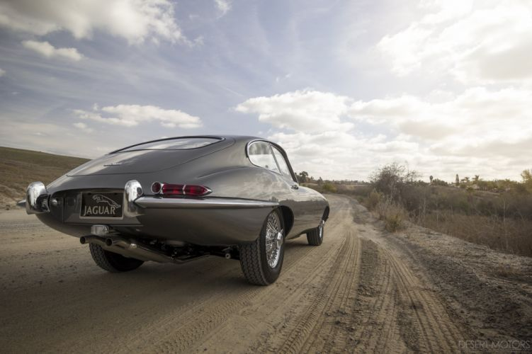 1964 Jaguar E-Type Series-1 Fixed Head Coupe classic wallpaper