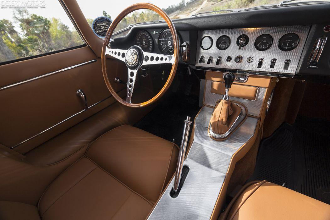 1964 Jaguar E-Type Series-1 Fixed Head Coupe classic wallpaper