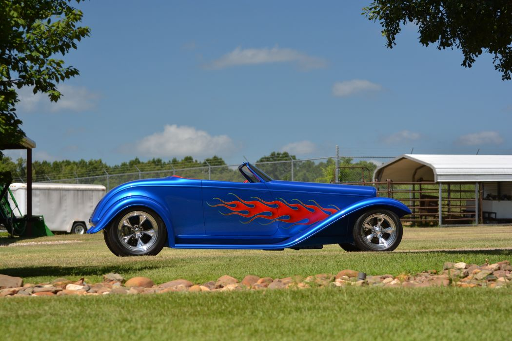 1932 Ford Roadster Boydster II Street Rod Hot Old USA -20 wallpaper