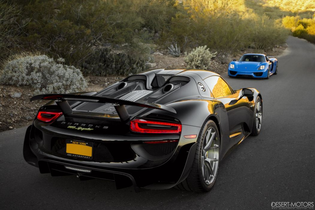 Porsche 918 Spyder supercar wallpaper