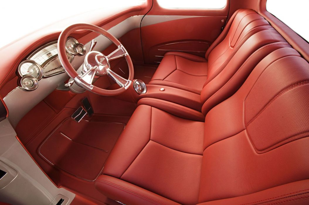 1957 Chevrolet Chevy Pickup Cameo Quiksilver Custom Street Rodder Hot Low USA -05 wallpaper