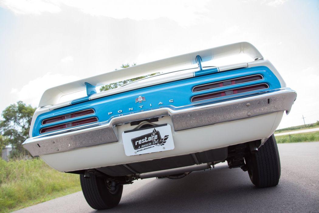 1969 pontiac Trans-Am Ram Air I V coupe cars wallpaper