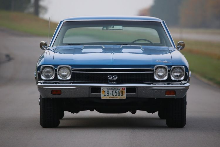 1968 chevy Chevelle coupe cars wallpaper