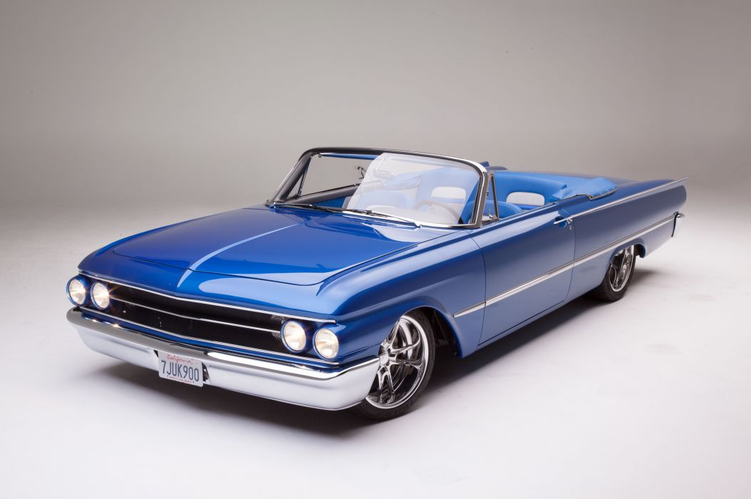 1961 Ford Sunliner Street Rodder SuperStreet Super Pro Touring Low USA -09 wallpaper