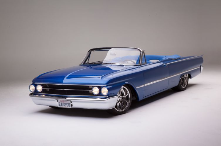 1961 Ford Sunliner Street Rodder SuperStreet Super Pro Touring Low USA -10 wallpaper