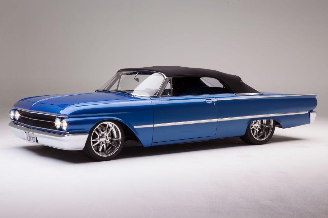 1961 Ford Sunliner Street Rodder SuperStreet Super Pro Touring Low USA -12 wallpaper