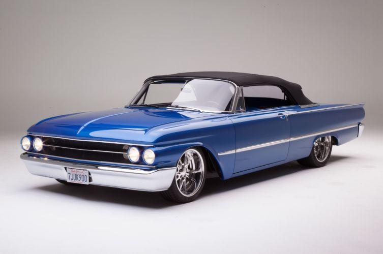 1961 Ford Sunliner Street Rodder SuperStreet Super Pro Touring Low USA -11 wallpaper