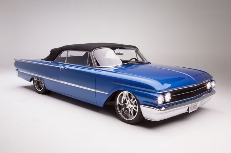 1961 Ford Sunliner Street Rodder SuperStreet Super Pro Touring Low USA -14 wallpaper