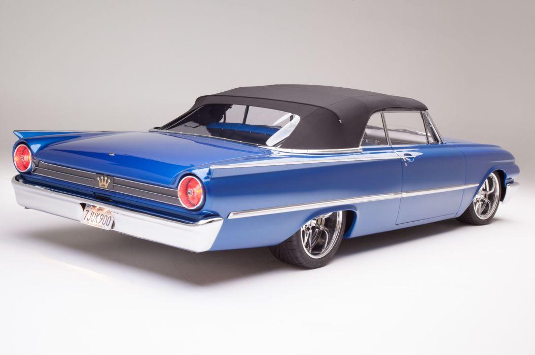 1961 Ford Sunliner Street Rodder SuperStreet Super Pro Touring Low USA -19 wallpaper