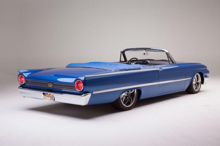 1961 Ford Sunliner Street Rodder SuperStreet Super Pro Touring Low USA -20 wallpaper