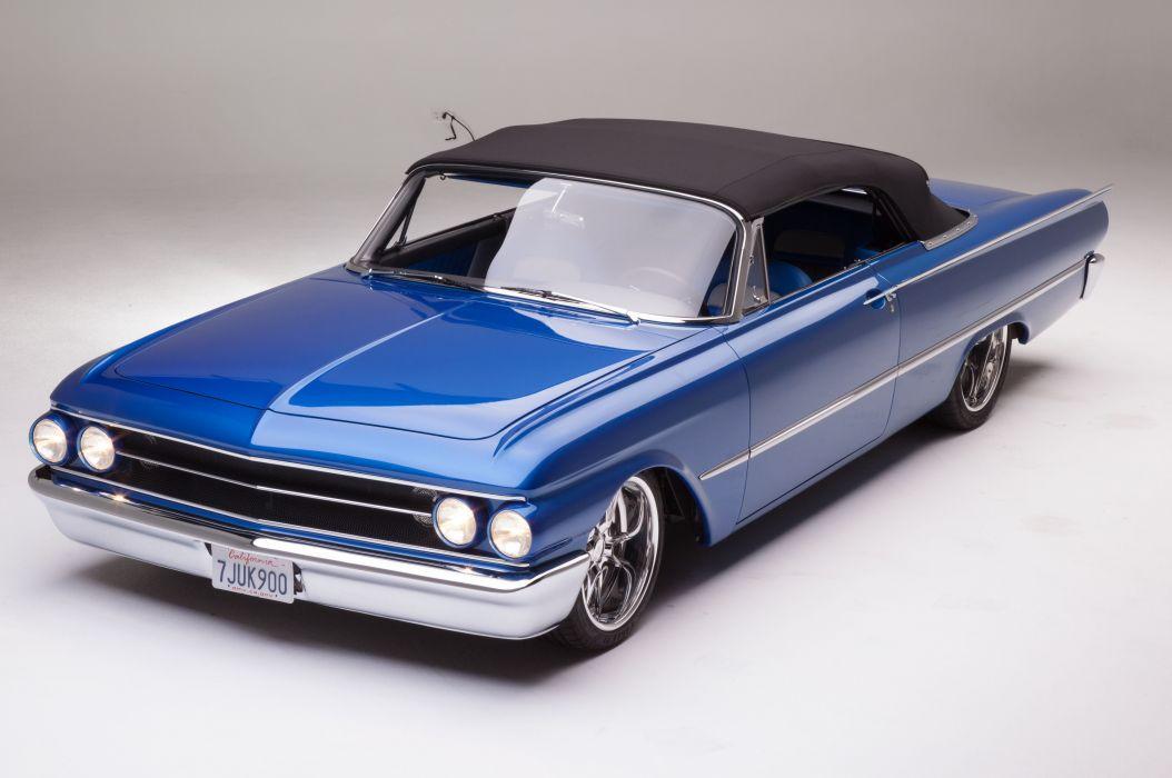 1961 Ford Sunliner Street Rodder SuperStreet Super Pro Touring Low USA -23 wallpaper