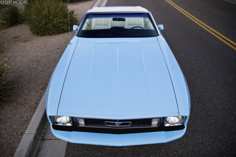 1973 Ford Mustang Convertible muscle classic wallpaper