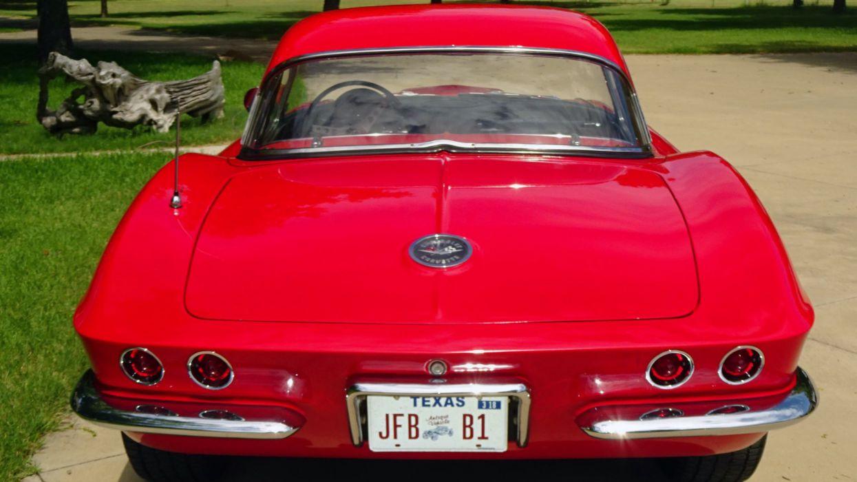 1962 Chevrolet Corvette Convertible Street Machine Streetrod Rod Hot Muscle Classic USA -07 wallpaper