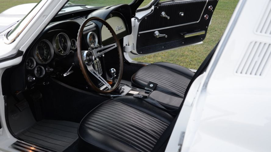 1964 Chevrolet Corvette Coupe Stingray Muscle Classic Old Original USA -04 wallpaper