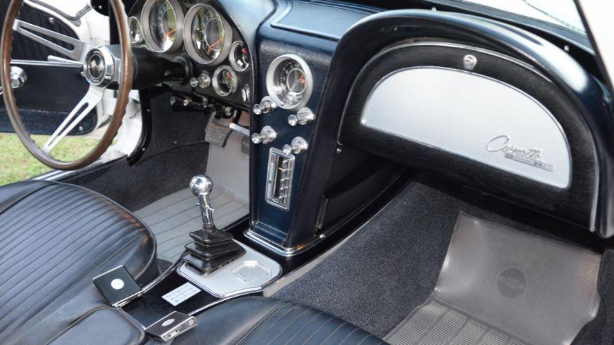 1964 Chevrolet Corvette Coupe Stingray Muscle Classic Old Original USA -05 wallpaper