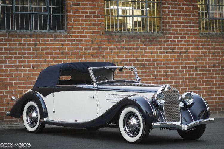 1936 Delage D6-70 Milord Cabriolet Figoni Falaschi luxury vintage wallpaper