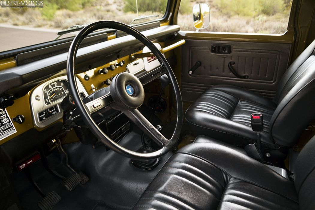 1977 Toyota FJ40 Land Cruiser suv 4x4 wallpaper