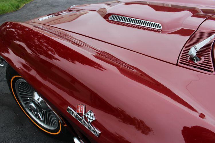 1966 Chevrolet Corvette Convertible Stingray 427 Muscle Classic Original USA -20 wallpaper