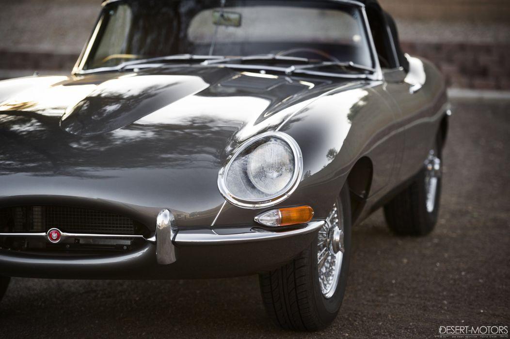 1964 Jaguar XKE Series-1 Roadster classic wallpaper