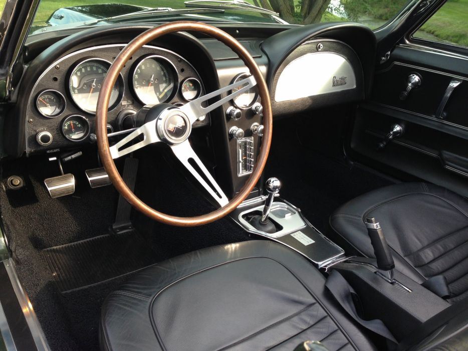 1967 Chevrolet Corvette Comvertible Stingray 427 Muscle Classic Old Original USA -10 wallpaper