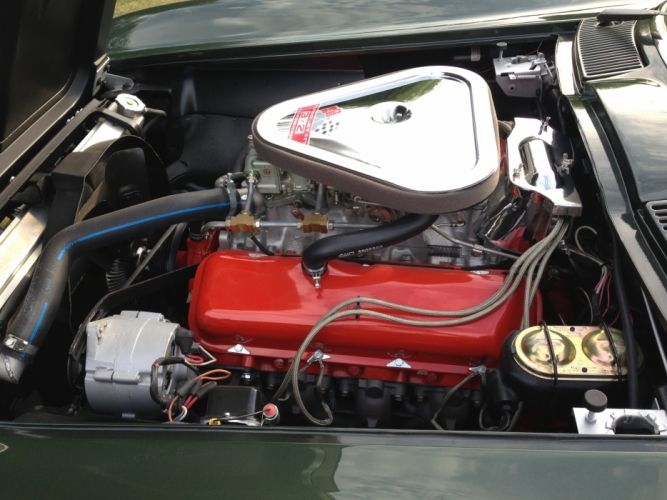 1967 Chevrolet Corvette Comvertible Stingray 427 Muscle Classic Old Original USA -11 wallpaper