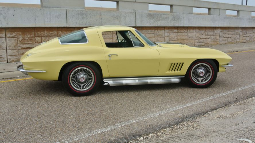 1967 Chevrolet Corvette Coupe Stingray 427 Muscle Classic Old Original USA -02 wallpaper