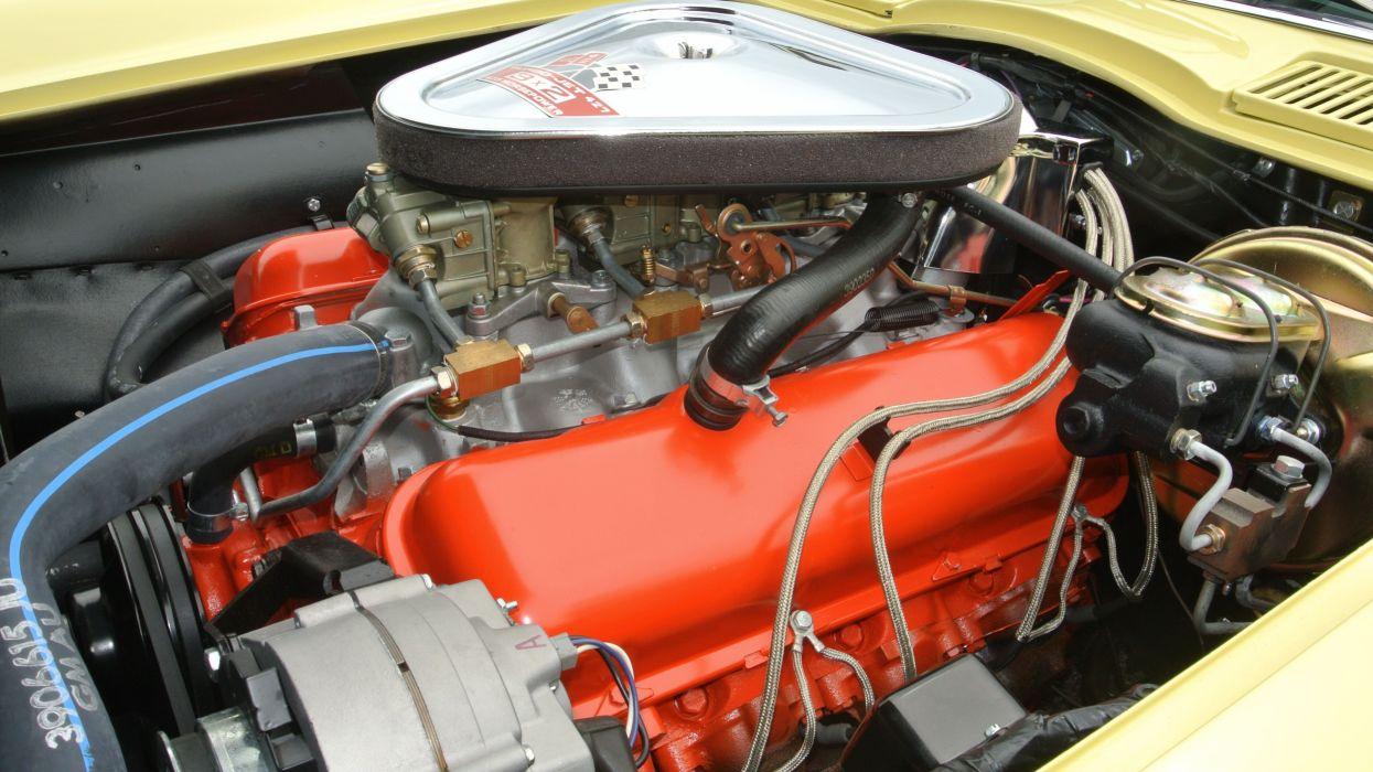1967 Chevrolet Corvette Coupe Stingray 427 Muscle Classic Old Original USA -07 wallpaper