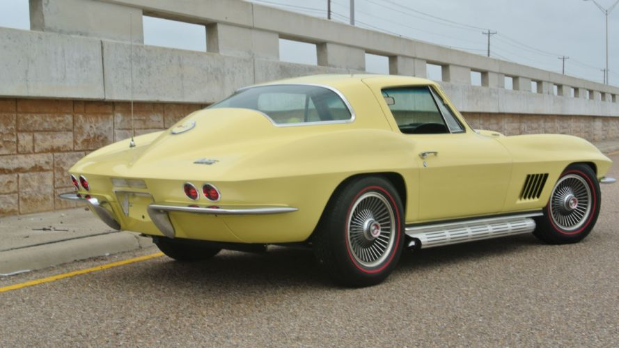 1967 Chevrolet Corvette Coupe Stingray 427 Muscle Classic Old Original USA -09 wallpaper