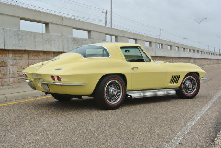 1967 Chevrolet Corvette Coupe Stingray 427 Muscle Classic Old Original USA -12 wallpaper