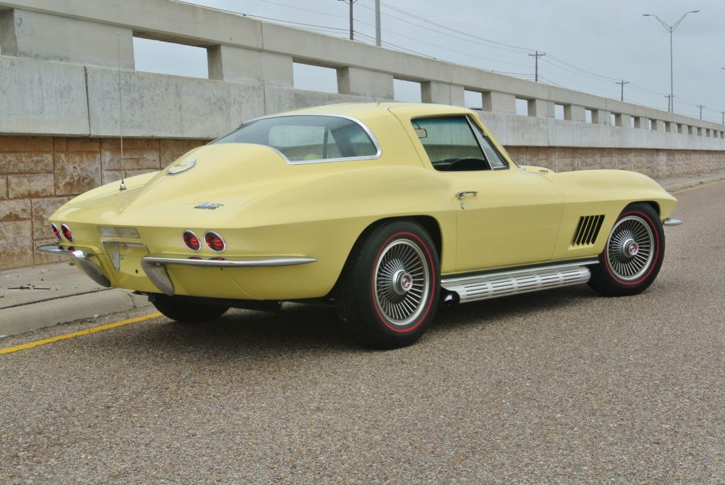 1967 Chevrolet Corvette Coupe Stingray 427 Muscle Classic Old Original USA -11 wallpaper