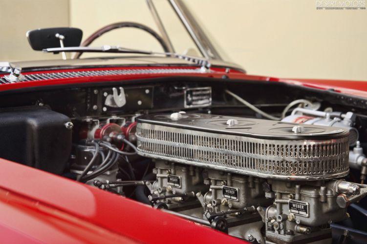 1960 Ferrari 250 G-T Cabriolet Pininfarina Series-II classic supercar wallpaper