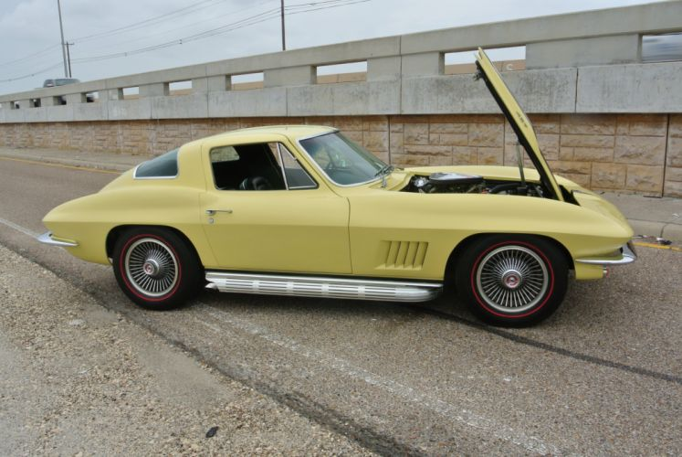 1967 Chevrolet Corvette Coupe Stingray 427 Muscle Classic Old Original USA -19 wallpaper