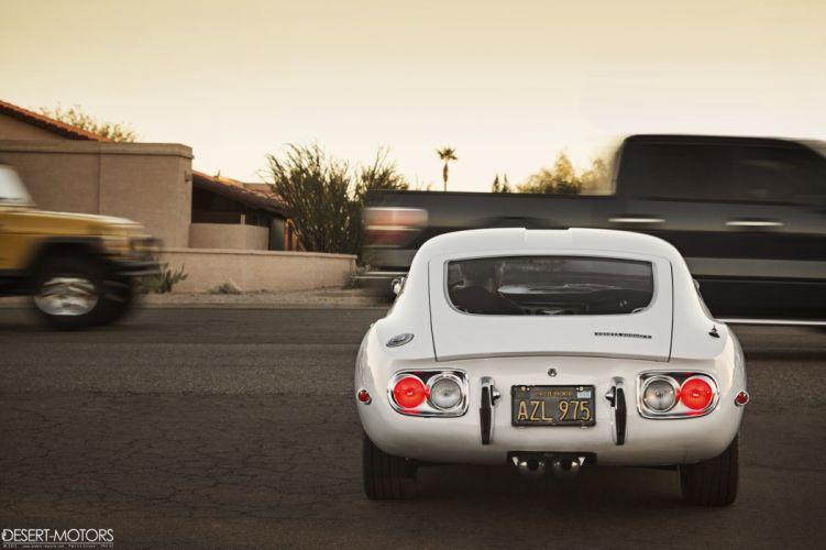 1967 Toyota 2000GT supercar classic g-t wallpaper