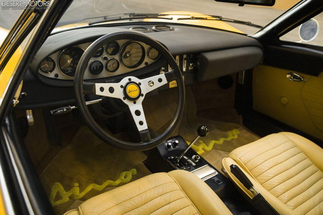 1973 Dino 246 GTS supercar classic wallpaper