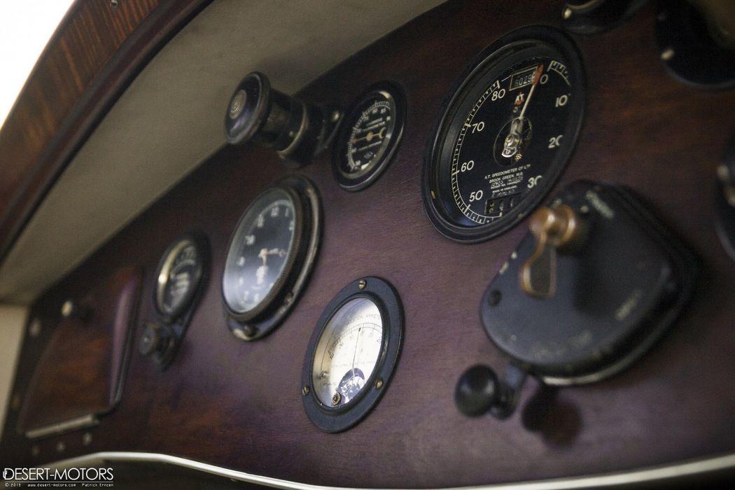 1925 Rolls Royce Phantom I Saloon Martin King luxury vintage wallpaper