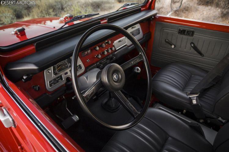 1978 Toyota Land Cruiser FJ40 suv 4x4 classic truck wallpaper