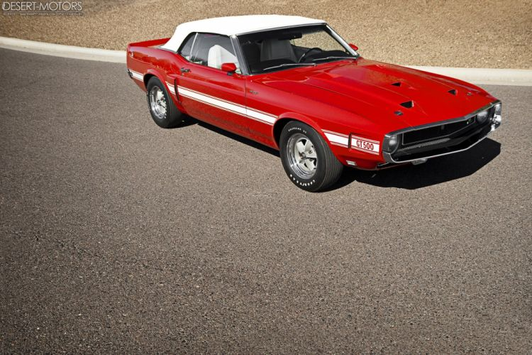 1969 Shelby GT500 Convertible 428 Cobra Jet ford mustang muscle classic wallpaper