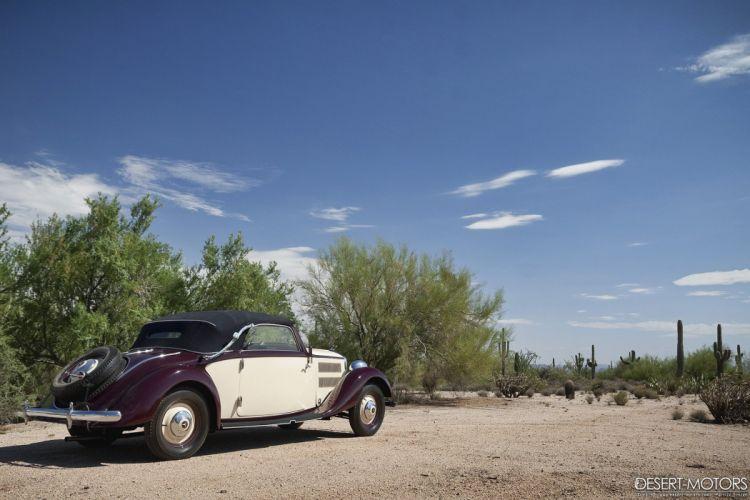 1937 Mercedes Benz 230A Cabriolet luxury vintage 230 wallpaper