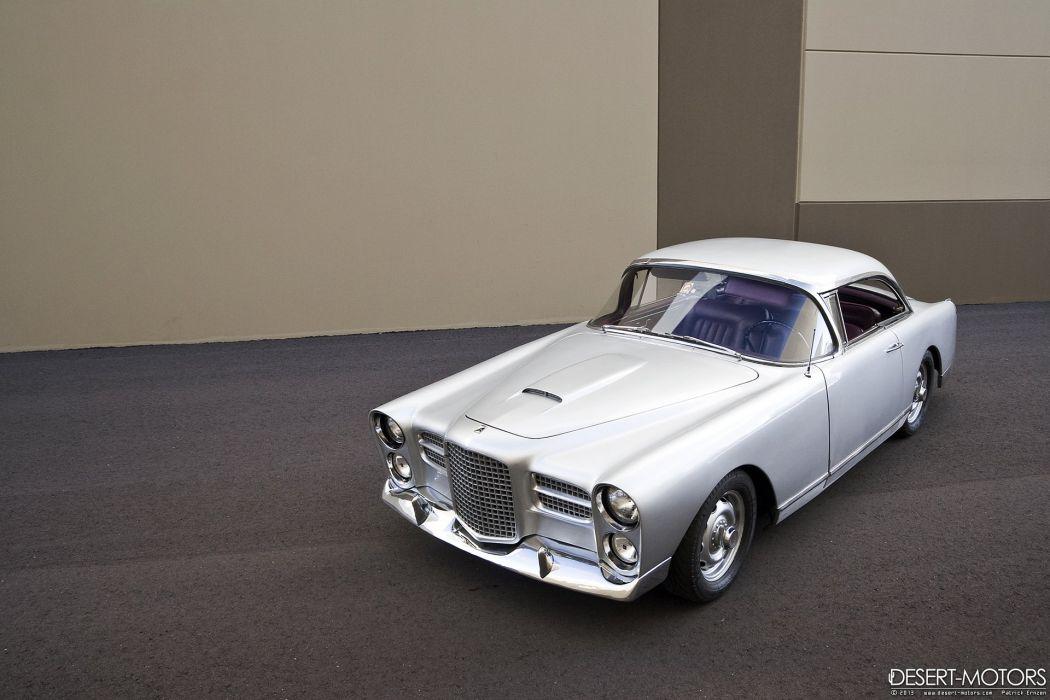 1960 Facel Vega HK500 Two Door Coupe luxury classic wallpaper