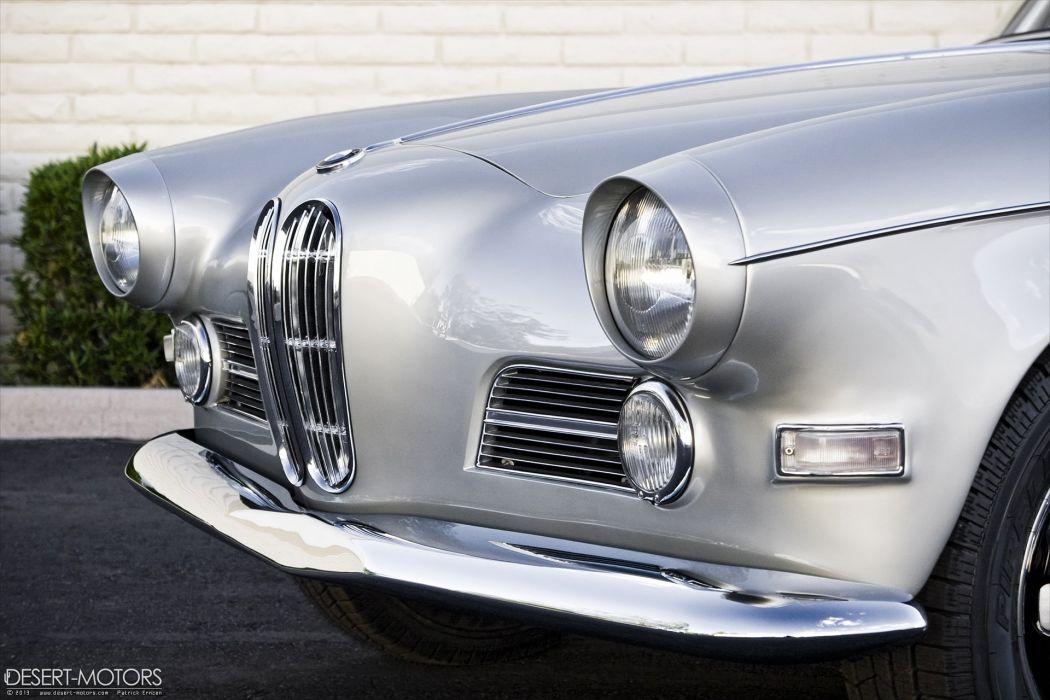 1959 BMW 503 retro wallpaper