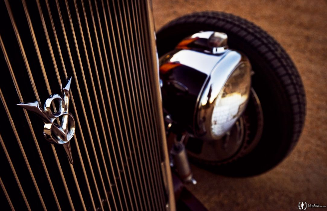 1933 Ford Coupe Custom hot rod rods vintage wallpaper