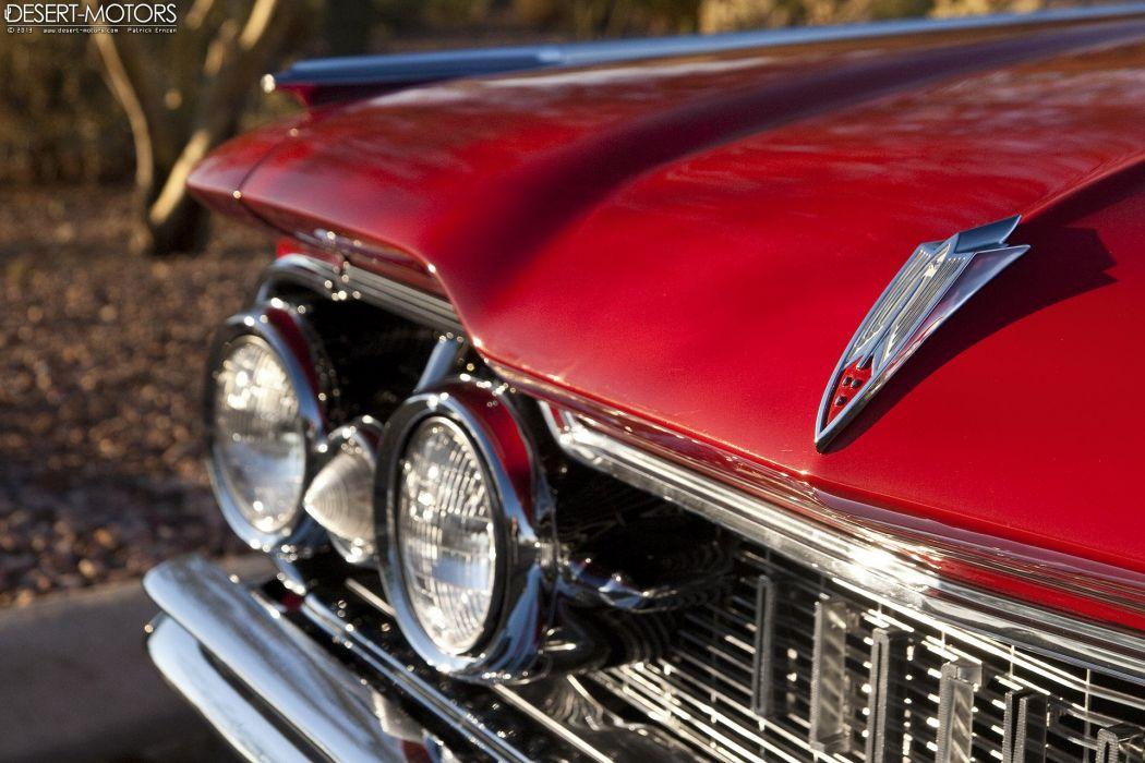 1959 Oldsmobile Ninety-Eight Convertible luxury retro wallpaper