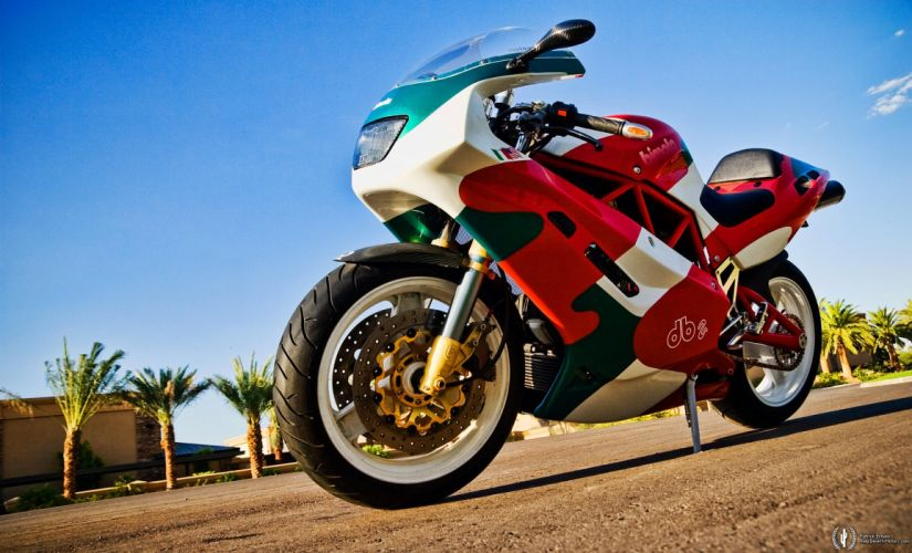 1994 Bimota DB2 superbike race racing wallpaper