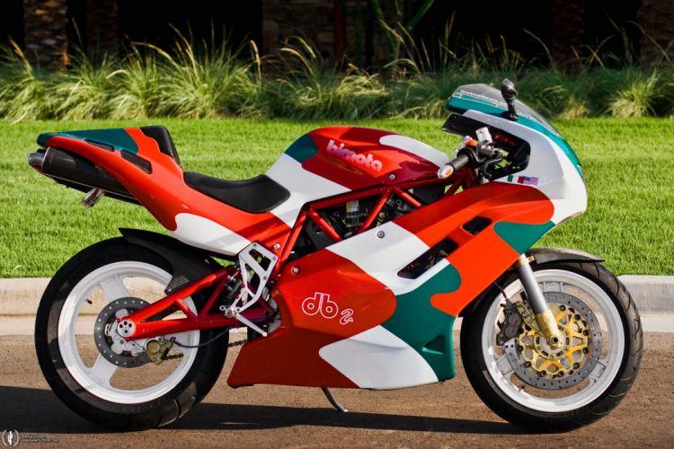 1994 Bimota DB2 superbike race racing wallpaper